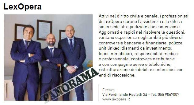 LexOpera - articolo panorama